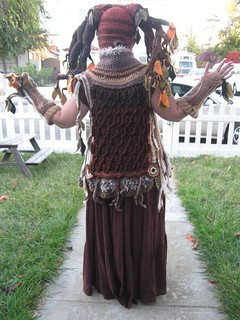 Tree Costume, back