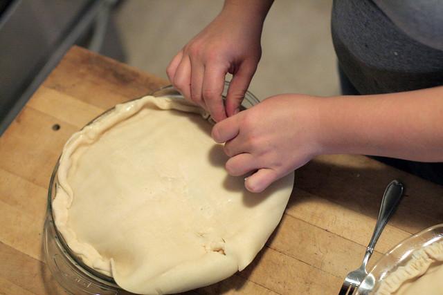 Chicken Pot Pie in the Making