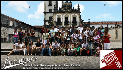 Saída Fotocultura especial em João Pessoa - 28/10/2012