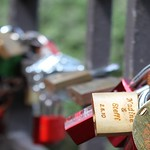 "Shane-Mrozek-People -- On this bridge on Neuer Wall Strasse in Hamburg, Germany, couples lock ""love locks"" engraved with their names and throw the key into the river to symbolize their love. - Shane Mrozek"