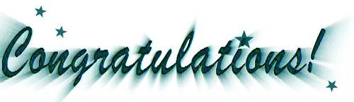Congratulations 3!