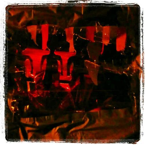 Cheri and Fabian's trunk. Shadrack, Meshack and Abendigo in the fire.