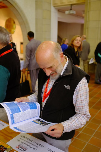 Primus of the Scottish Episcopal Church, the Most Revd David Chillingworth reads up on the Evangelism and Church Growth Initiative