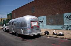 Silver Trailer in Williamsburg, Brooklyn