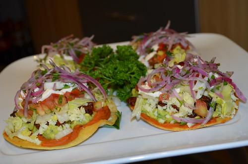 Tostadas mexicanas la comida de mi casa a photo on - Comida faciles y rapidas ...