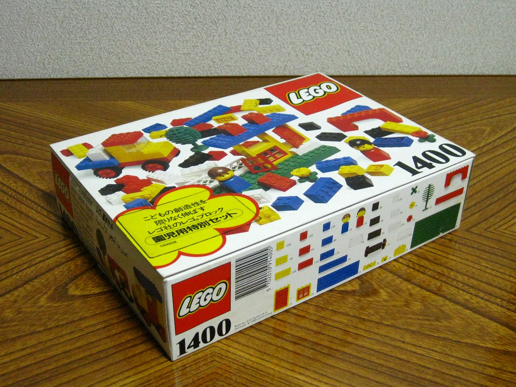 Spielzeug Lego catalogue annee 1972 large catalog from 1972