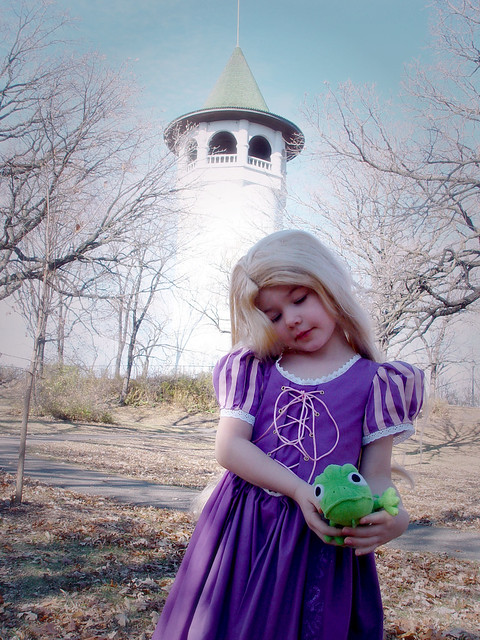 Rapunzel and tower 2