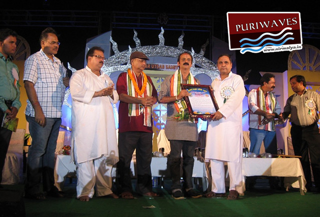 Kumar Utsav 2012 Sri Gyna Hota was honored