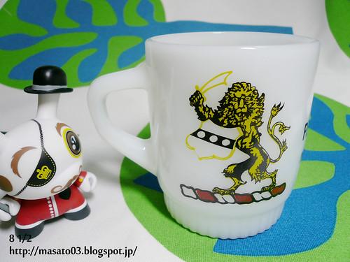 Fire King Pennsylvania National Guard coffee mug 3