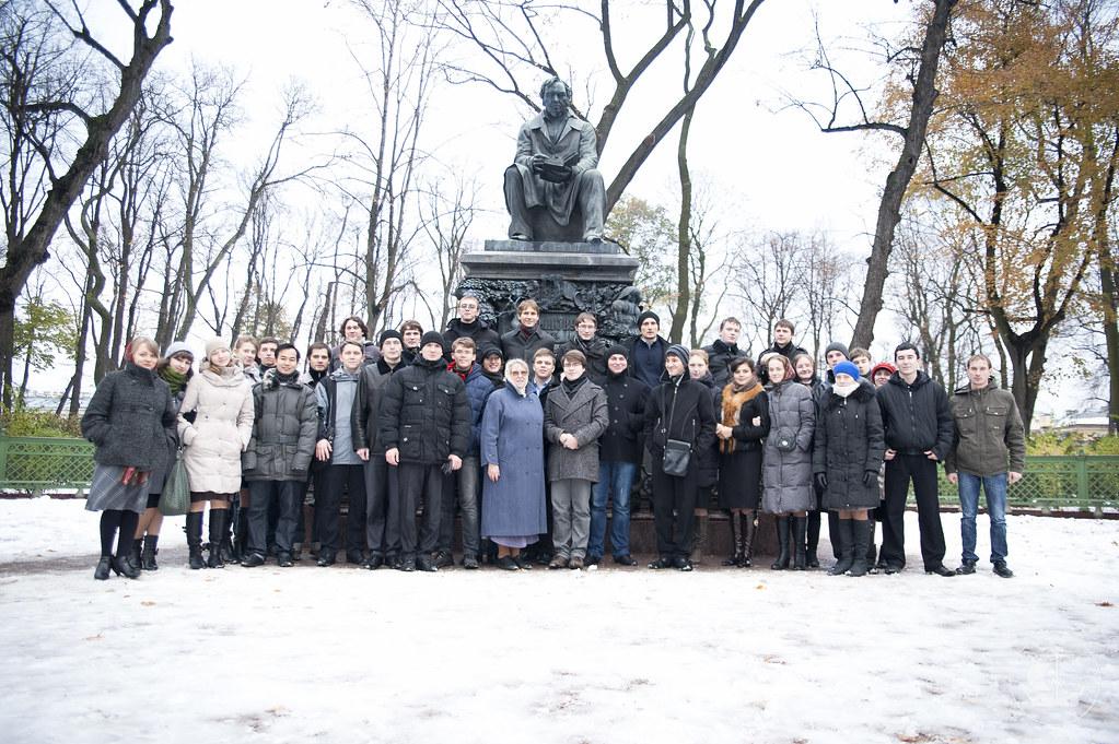 1 ноября 2012, Экскурсия по городу 3 курсов бакалавриата и регентского