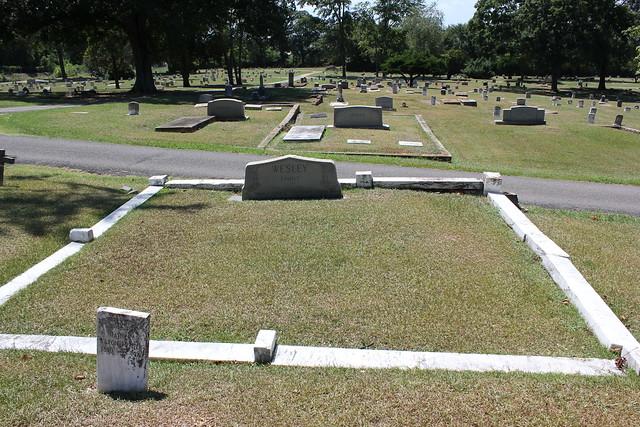 Cynthia Wesley, Greenwood Cemetery