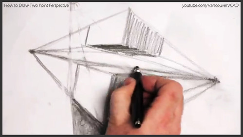 2D design how to draw in two point perspective 018