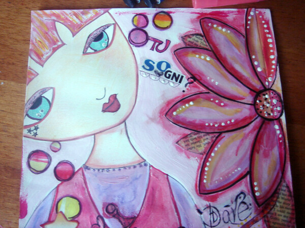 dolly 1 mixed media 2