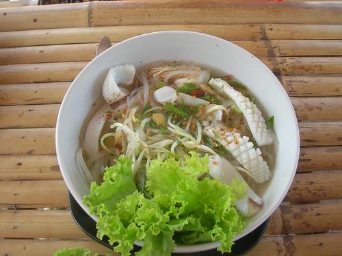 squid noodle soup