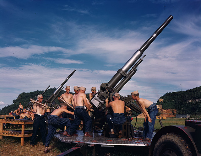 Anti-aircraft, Puerto Rico, pre-war