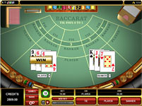 Jackpot City Casino baccarat