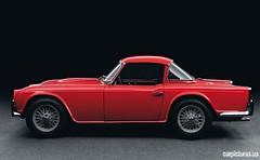 automobile, vehicle, triumph tr250, triumph tr5, performance car, classic car, land vehicle, sports car,