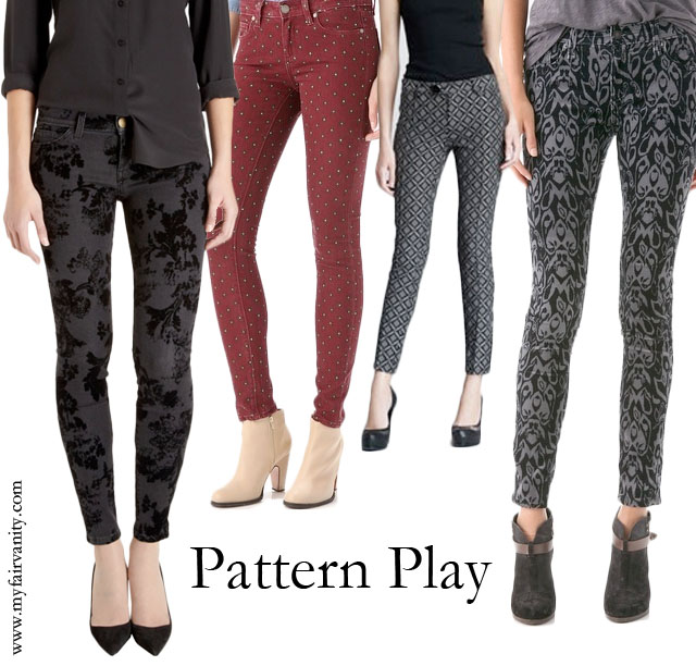 patterned jeans my fair vanity style blog made in usa 10