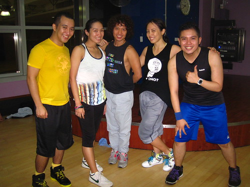 BODYJAM AIM1 w/ trainer Arnold Warren