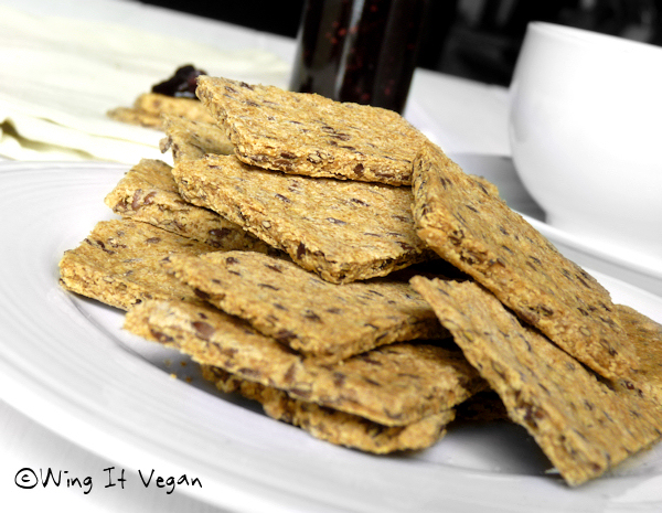 Basic Flax Crackers (Practically Raw)
