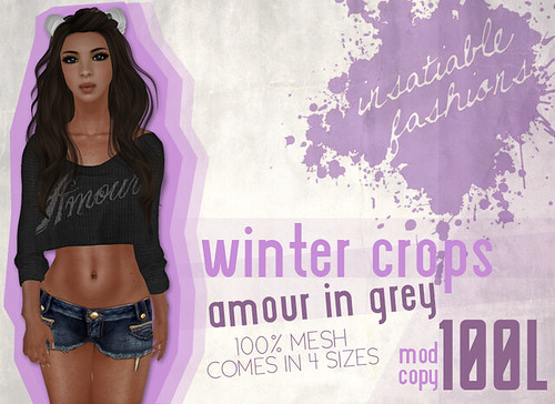The Black Market Exclusive: Winter Crops Amour in Grey