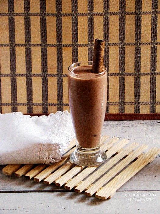 Banana - Nutella Milkshake
