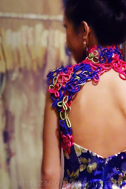 Mystic Amplified Cheongsam - back detail