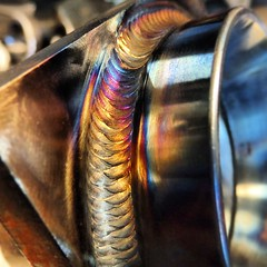 Freehand #weldporn.