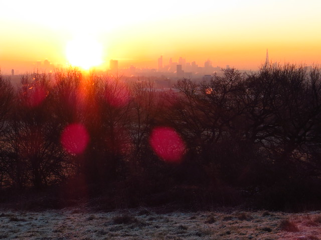 Sunrise from Parliament Hill