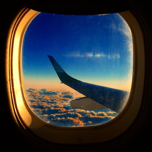 sky window clouds sunrise airplane flight aerial airbus jeddah jazan