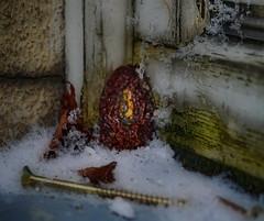 Apples of Paradise in Ice and Snow ~ Paradiesäpfel in Eis und Schnee - MirrorGround Steinhof - Hommage a Friedemann der Teppichweber