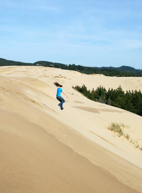 Sand dune jumping flickr photo sharing Giant recreation world winter garden
