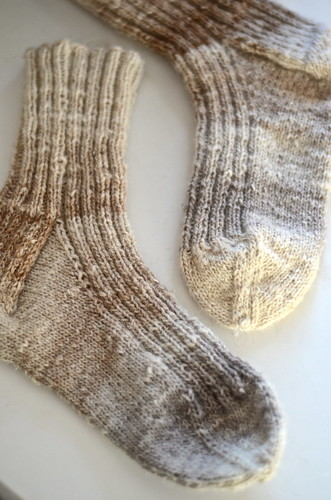 2x2 rib socks
