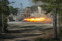 F-1 Engine Gas Generator Test at Marshall (NASA, Space Launch System, 01/24/13)