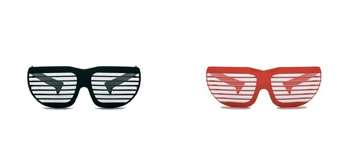 Slatted Shutter sunglasses, Alain Mikli, c. 1980