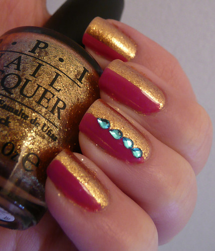 pink gold gems 4