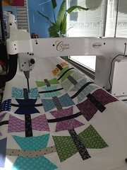 Hope Takes Flight 2 ~ quilting the butterflies.