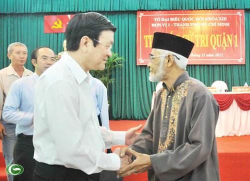 Hình ảnh hoạt động của Chủ tịch nước Trương Tấn Sang từ ngày ( 01/01/2013 - 28/01/2013)