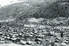 Morzine from Pleney