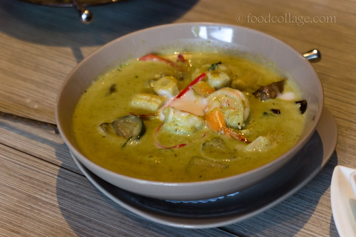 Thai Green Curry at Thai Basil (Toronto)