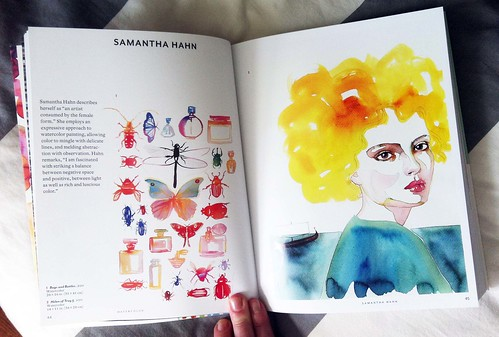 Watercolor artists book3_Samantha Hahn