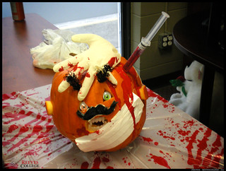 2012 Reeves College Calgary North Campus 1st place Medical Emergency Pumpkin