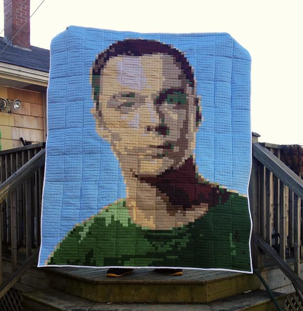Sheldon Cooper Quilt!