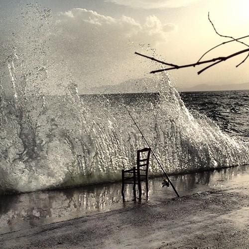 Κατω Γατζέα, λιμάνι με μποφόρ! by Dimitris Amountzas