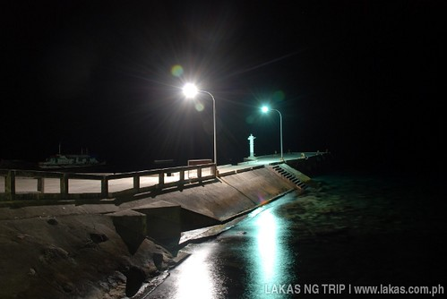 Banton Island Port at night - Romblon, Philippines