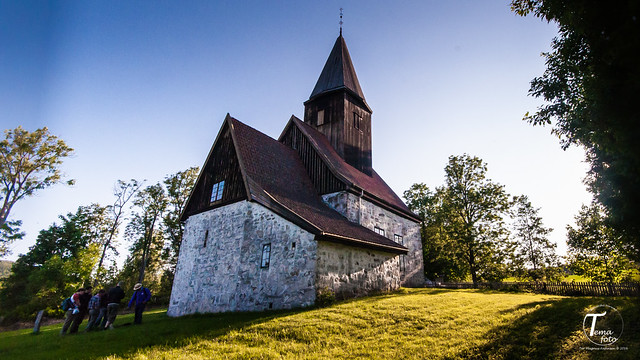 Fiskum old church