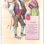Sun, 1905-01-01 00:00 - Título: Tipos Cómicos:  Cuenca  Publicación: Madrid : Tipolit. Palacios, [1905]  Descripción física: 1 il. : col. (tarjeta postal) ; 9x14cm Serie: (Tipos Cómicos. 17) Nota: La ilustración la firma 'Pilla'. Signatura: POS 2402