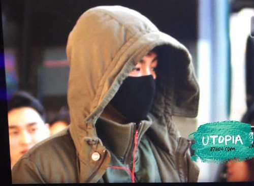 Big Bang - Incheon Airport - 10apr2015 - TOP - Utopia - 04