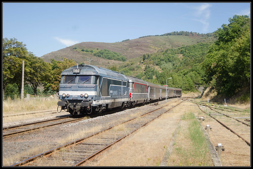 14-08-2016, Villefort, SNCF 67556 + 67557 + Corail | by Koen vd Lee