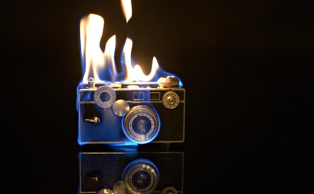 A burning love